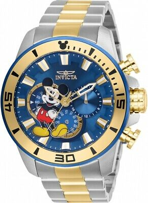 Invicta Disney Limited Edition Chronograph Blue Dial Men's Watch 27365