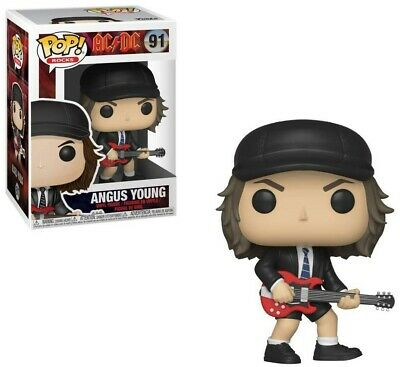 ANGUS YOUNG - Funko Pop! Rocks AC/DC #91 IN STOCK