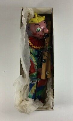Vintage Pelham Puppets Clown Boxed