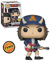 ANGUS YOUNG (CHASE) - Funko Pop! Rocks AC/DC #91 IN STOCK