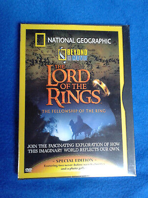 DVD National Geographic - Beyond the Movie: The Lord of the Rings NEU/OVP