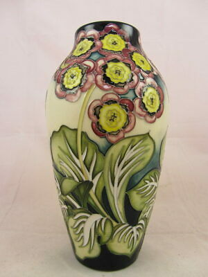 MOORCROFT Pink Flowers Vase (Pattern unknown)