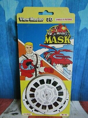 View Master 3D Mask - 3 Reels 21 Photos Unopened New Old Stock NR103