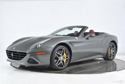 2017 Ferrari California T Certified CPO Carbon Fiber LED Shields Camera Yellow Calipers 20 Forged HomeLink Stitching