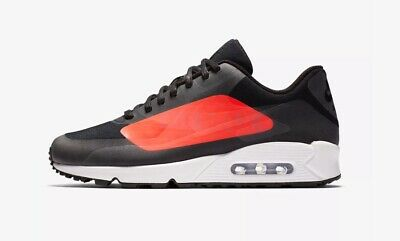 MEN S NIKE AIR Max 90 NS GPX AJ7182-003 Black Bright Crimson NIB ... 3a01df346