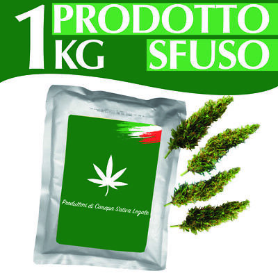 1 KG Cannabis Kompolti Prodotto Italiano Light Cannabis 1kg