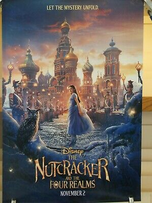 Disney's The NutCracker And The Four Realms authentic 27 x 40 Preview D/S Poster