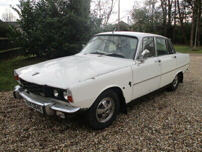 1978 Rover P6 2200 Tc ( Possibly The Last 2200 Tc Of The Production Line)