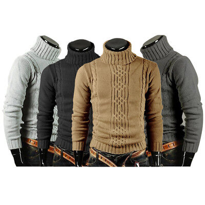 aadc1c2be53 Hiver HOMME Pull Col Rond Pull-Over Automne Manches Longues Vêtements en  Tricot