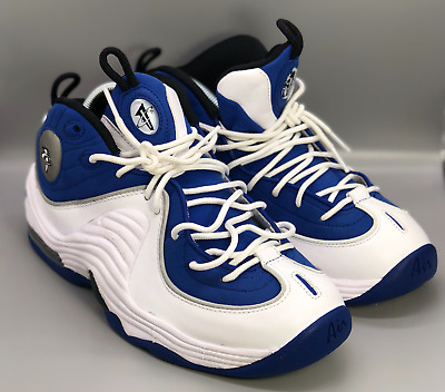 detailed pictures e2dee d93f3 2015 Nike Air Penny 2 II Atlantic  College Blue  333886-400, Size