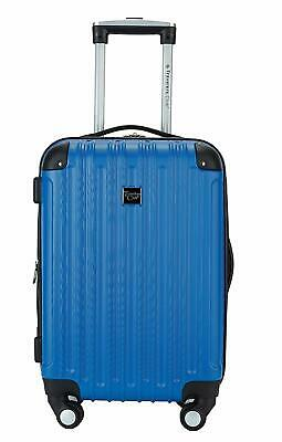 """Travelers Club 20"""" Carry-On with Cup and Phone Convenience Pocket Expandable"""