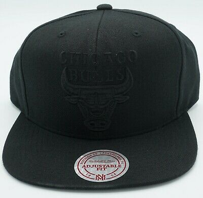 NBA Chicago Bulls Mitchell & Ness Adult Structured Cap Hat Beanie M&N #NZX14 NEW