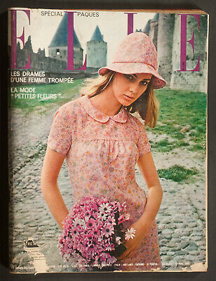 'elle' French Vintage Magazine Easter Issue 15 April 1965
