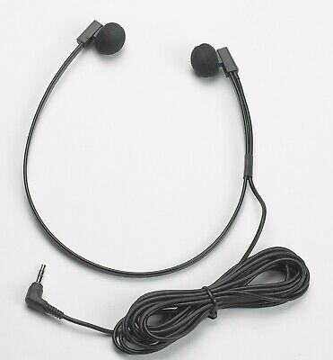 Genuine Spectra SP PC Stereo Transcription Headset 3.5mm Audio Jack - BRAND NEW