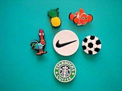 Jibbitz Croc Clog Shoe Charm Button Plug Accessories Soccer Ball Pineapple Nemo