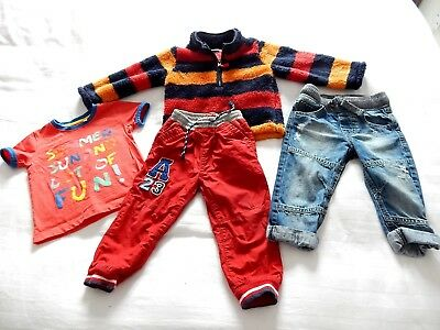 Baby Infant Boys Cuddly Top,jeans,trousers Age 12 To 18 Months  Gift