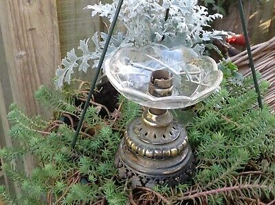 Genuine French Antique Brass Table Lamp Collectors Designers Delight Wow Wow