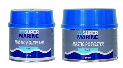 MASTIC POLYESTER DE FINITION 500g SUPERMARINE