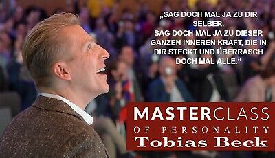 Tobias Beck Masterclass of Personality Offenbach 07.04.2019