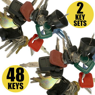 20 Keys Heavy Equipment Machines Construction Equipment master Ignition Key Set
