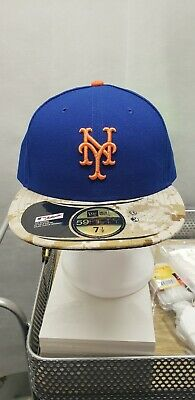 Official MLB 2015 New York Mets Memorial Day New Era 59FIFTY Hat MLB 7 1  d04bc0a6ff2