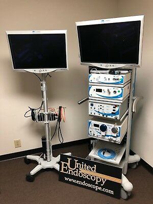 ConMed HD IM4000 Laparoscopy Tower with extra monitor