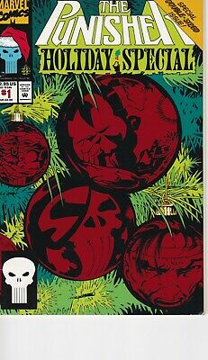 The Punisher Holiday Special #1 Marvel Comics 1993 Foil Cover