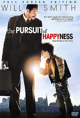 The Pursuit of Happyness (DVD 2007, Full Frame) Disc Only  37-102