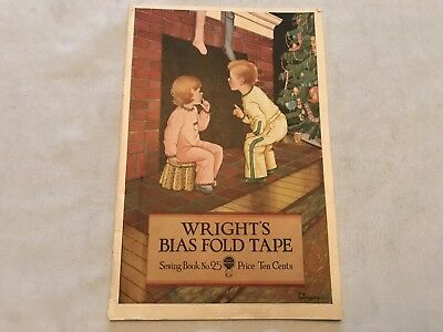 Wrights Bias Fold Tape Sewing Book #25, Dated 1931