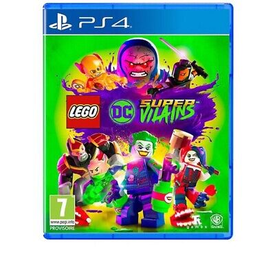Lego DC Super Vilains - Sous Blister - PS4
