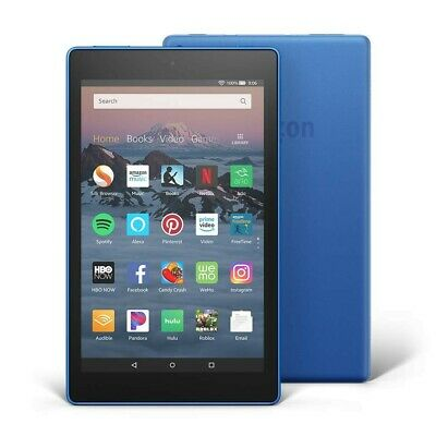 Amazon Fire HD 8 tablet, Marine Blue with Alexa, Brand New still in packaging