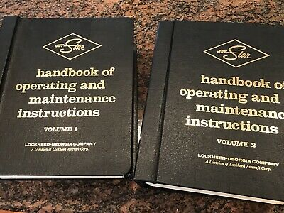 1969 Lockheed Jet Star Operating & Maintenance Manual JetStar Obsolete 2 Volume