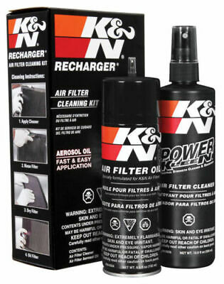 K&N Air Filter Recharger Cleaning Service Kit Aerosol Spray Oil - KN99-5000