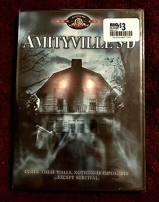 Amityville 3-D 3D DVD New Sealed