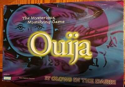 Ouija Board Game Glow In The Dark Game Hasbro Parker Brothers 1998 Complete
