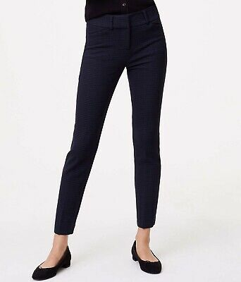 8baac32f91f NWT Ann Taylor LOFT Skinny Micro Plaid Ankle Pants in Marisa Fit Size 6P