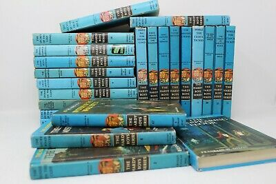 Lot of 10 of Vintage Hardy Boys Books - Hardcover - Random/Unsorted