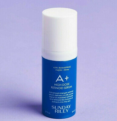 SUNDAY RILEY A+ HIGH DOSE RETINOID SERUM .27 fl oz / 8 ml  NEW Product Release!