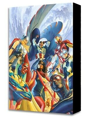 All New All Different Avengers 1 Alex Ross Gallery Wrapped Canvas NEW Official
