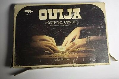 Vintage Parker Brothers Ouija Board Game 1972 Box Damage Otherwise Great Shape!