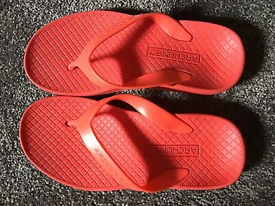 Archline Orthotic Thongs. HIGH ARCH. Size 37. Suit AU6.5. New