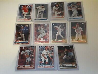 2019 Topps Series 1 # Numbered Parallel 1-350 UPick from List Lot