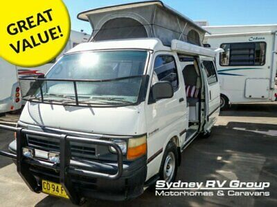 1994 Frontline Pop Top Toyota White A Campervan