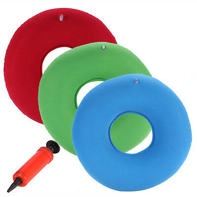 Pro Inflatable Rubber Ring Round Seat Cushion Medical Hemorrhoid Pillow Donuts G