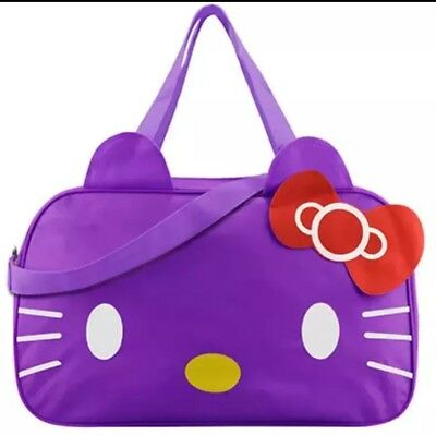 3a3e53b1681e HELLO KITTY LARGE Duffle Travel Gym Bag Weekender Tote FREE SHIPPING FROM  CA USA -  29.99