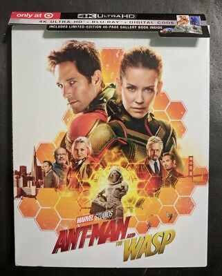 Ant-Man and the Wasp [4K ULTRA HD+BLURAY DISCS ONLY!!] [NO DIGITAL] TARGET