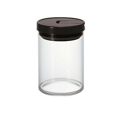 NEW Hario 200g Black Coffee Canister