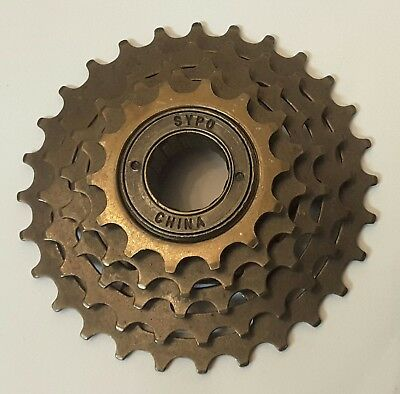 Nonew Sypo 5 Speed Freewheel 14-28 Bicycle Components & Parts Cycling