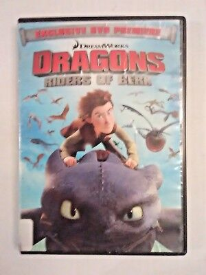 Dragons: Riders Of Berk (DVD, 2012) How To Train Your Dragon, 4 Episodes