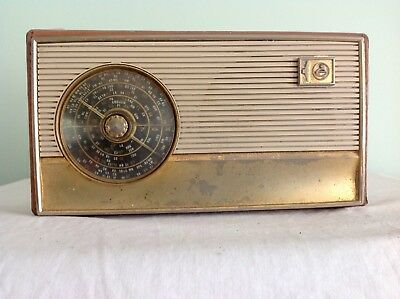 Early Transistor Radio Made by AWA in Good Condition for Age.